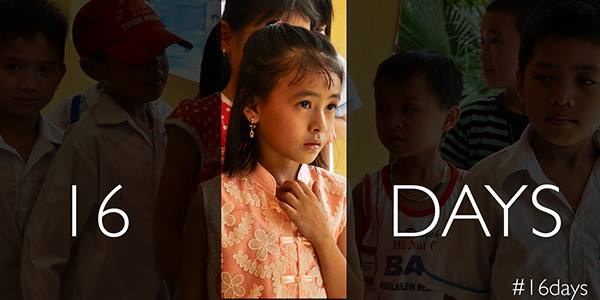 Thank you for following our #16Days campaign.